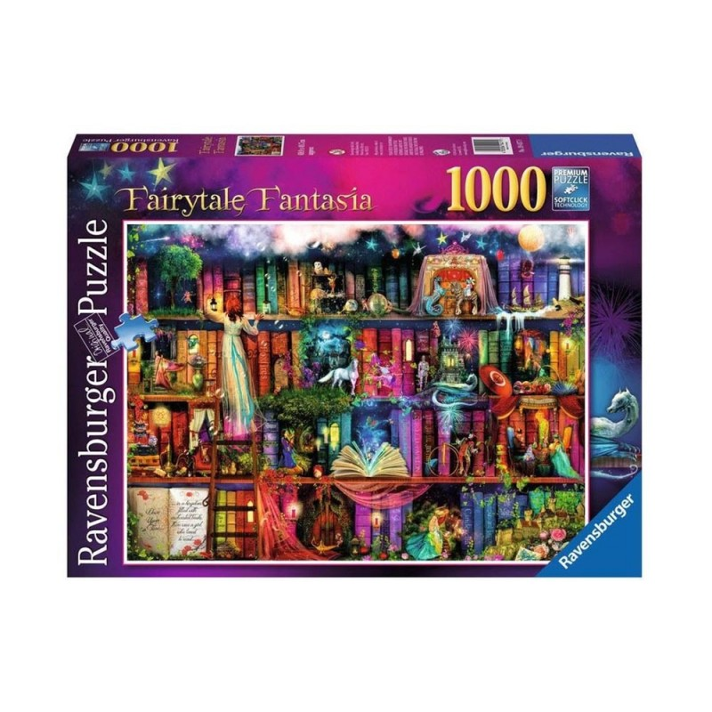 Puzzle 1000 Pz La Libreria Delle Fate - Ravensburger  - MazzeoGiocattoli.it