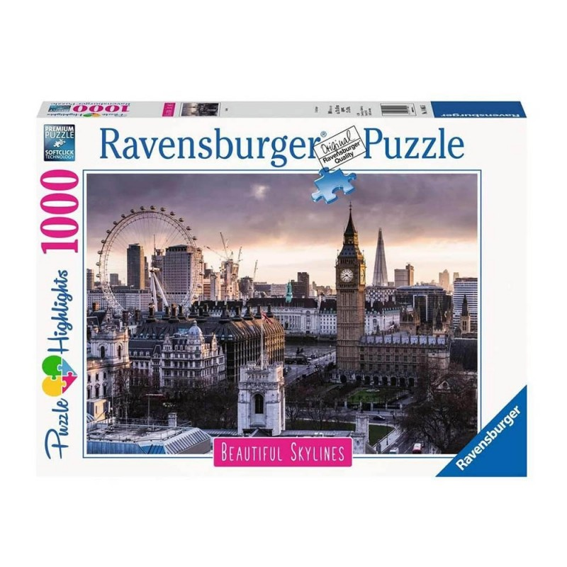 Puzzle 1000 Pz Londra - Ravensburger  - MazzeoGiocattoli.it