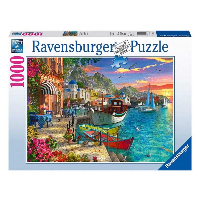 Puzzle 1000 Pz Meravigliosa Grecia- Ravensburger  - MazzeoGiocattoli.it
