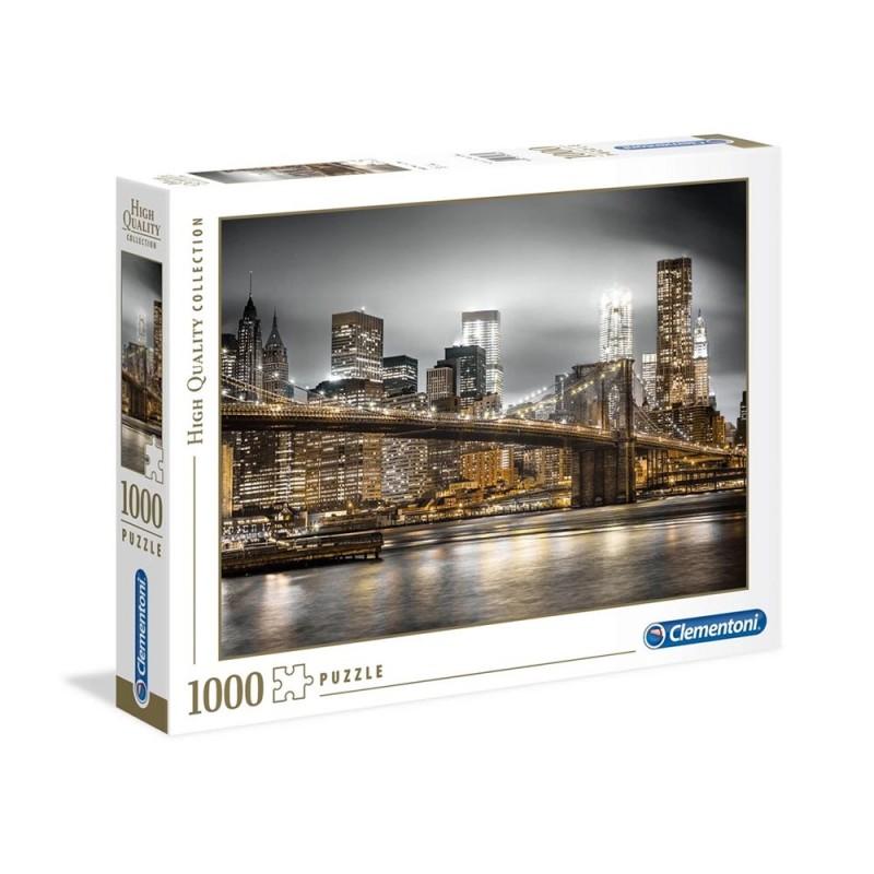 Puzzle 1000 Pz New York Skyline - Clementoni - MazzeoGiocattoli.it