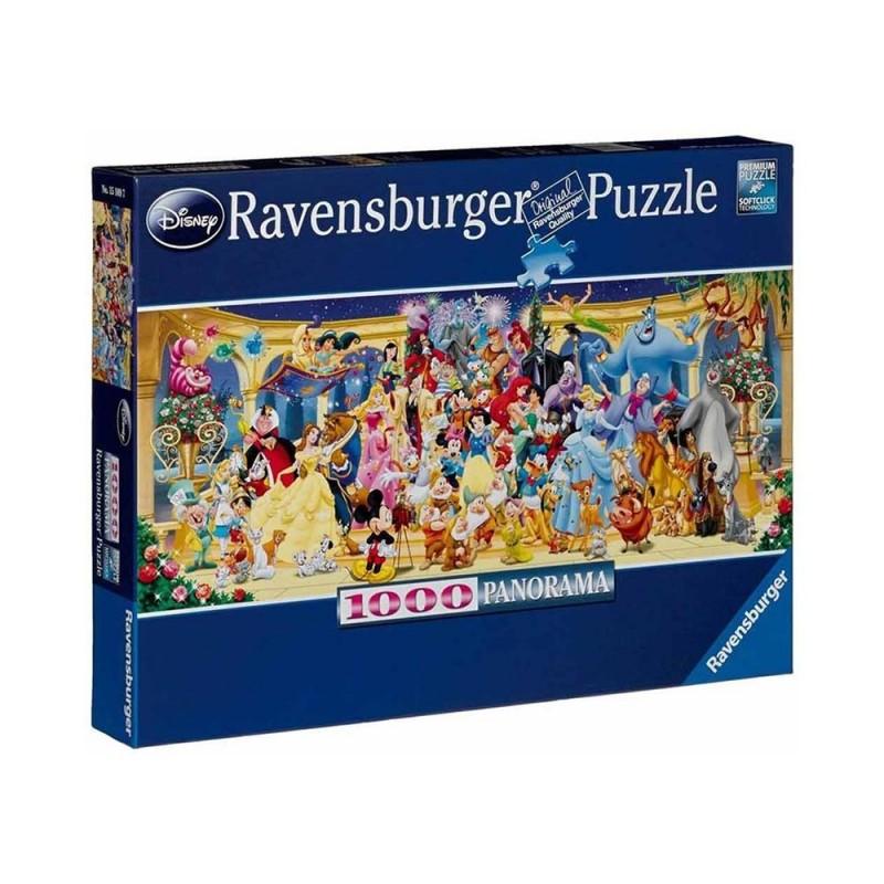 Puzzle 1000 Pz Panorama Disney - Ravensburger - MazzeoGiocattoli.it