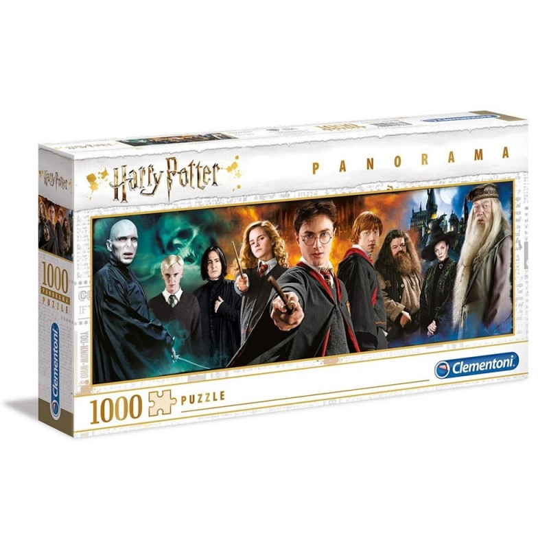 Puzzle 1000 Pz Panorama Harry Potter - Clementoni  - MazzeoGiocattoli.it