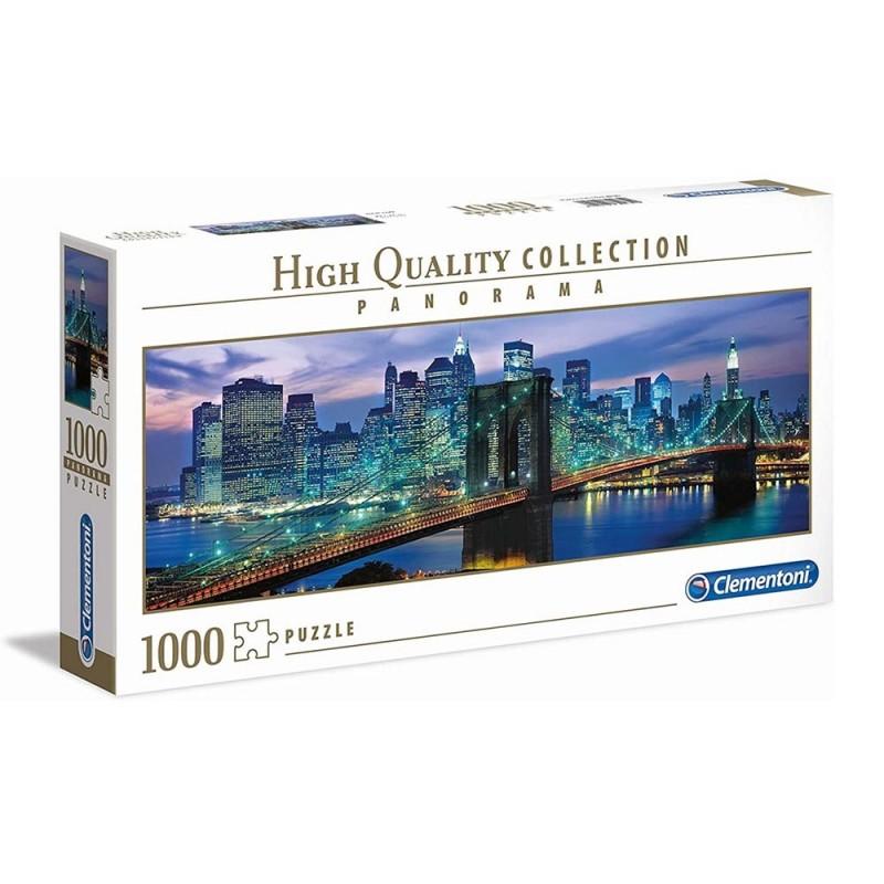 Puzzle 1000 Pz Ponte Di Brooklyn New York - Clementoni  - MazzeoGiocattoli.it