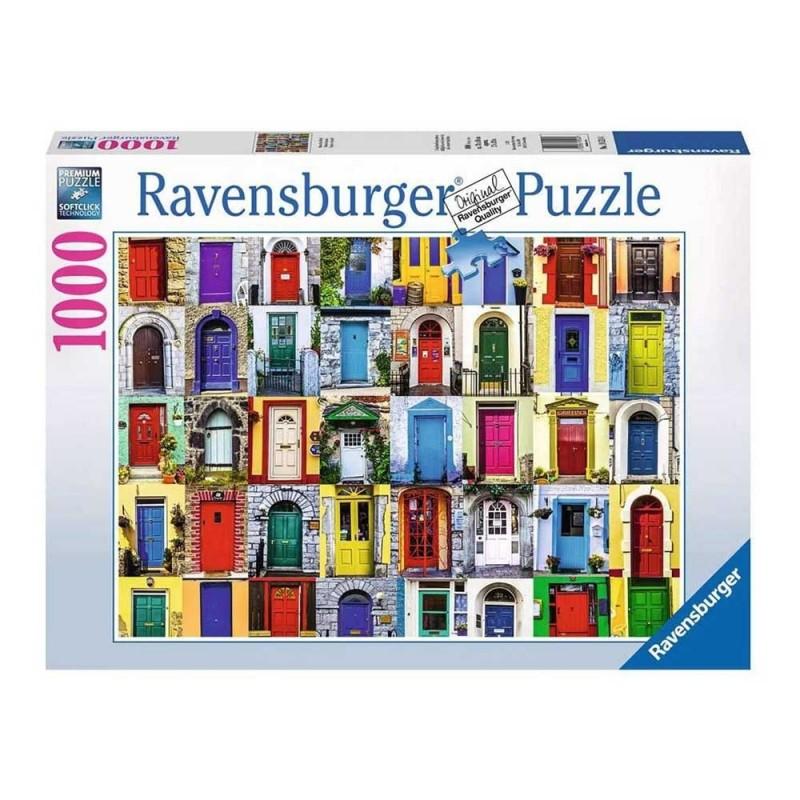 Puzzle 1000 Pz Porte Del Mondo - Ravensburger  - MazzeoGiocattoli.it