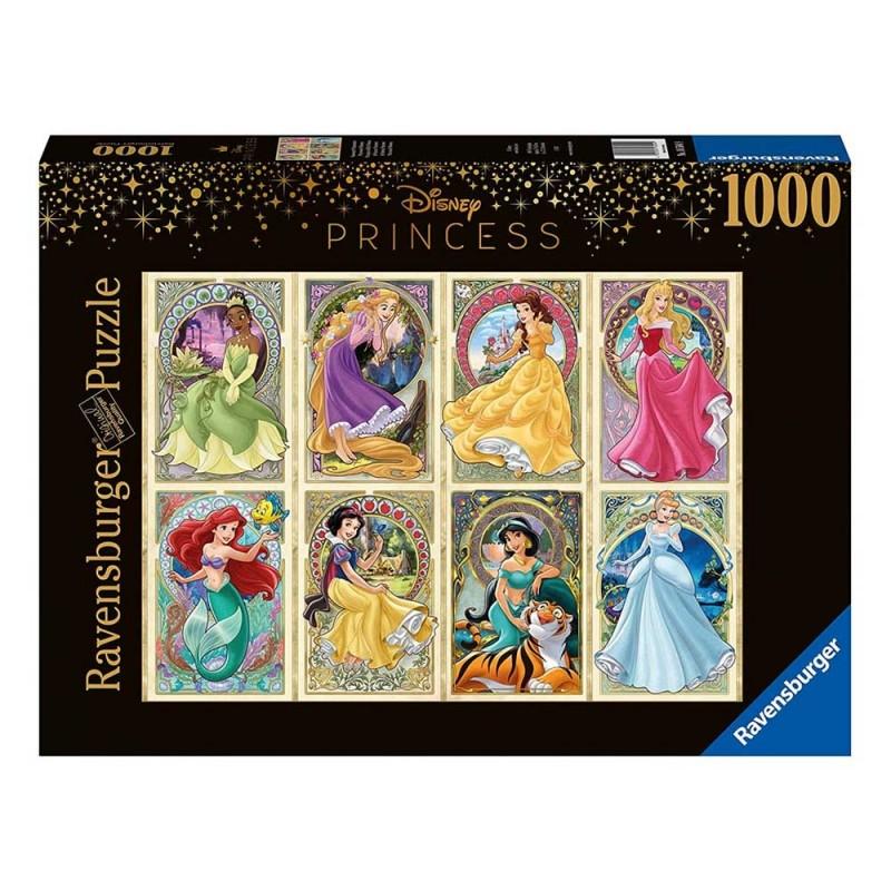 Puzzle 1000 Pz Principesse Dell'Art Nouveau - Ravensburger  - MazzeoGiocattoli.it