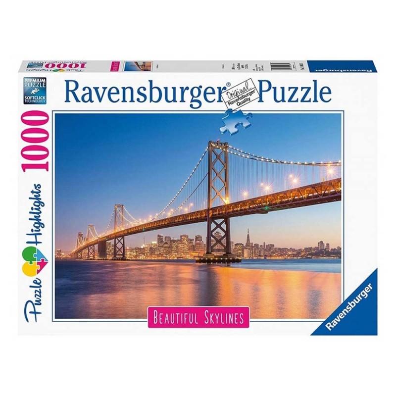 Puzzle 1000 Pz Skyline - Ravensburger - MazzeoGiocattoli.it