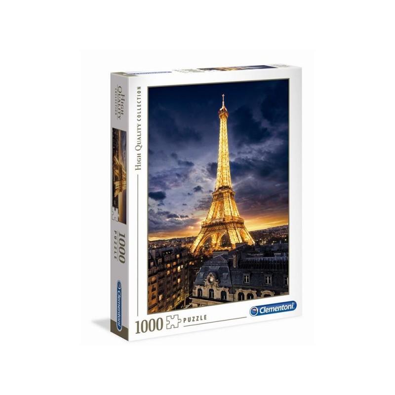 Puzzle 1000 Pz Torre Eiffel - Clementoni  - MazzeoGiocattoli.it