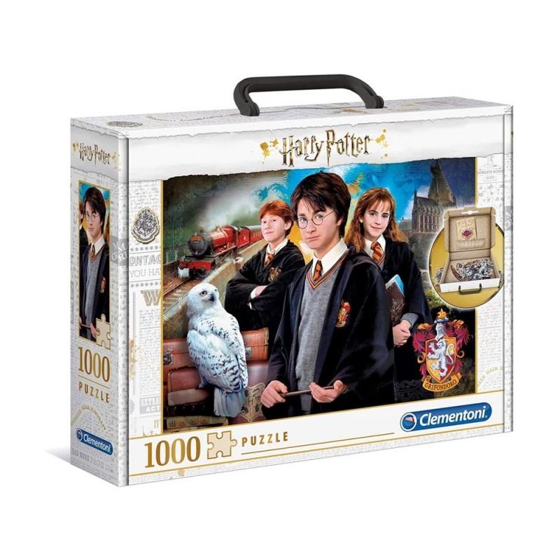 Puzzle 1000 Pz Valigetta Harry Potter - Clementoni  - MazzeoGiocattoli.it