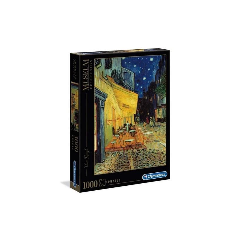 Puzzle 1000 Pz Van Gogh: Caffè Di Notte - Clementoni - MazzeoGiocattoli.it