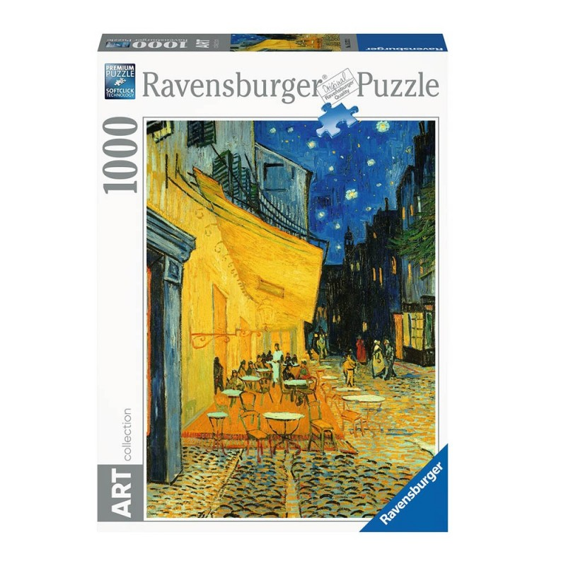 Puzzle 1000 Pz Van Gogh: Caffè Di Notte - Ravensburger  - MazzeoGiocattoli.it