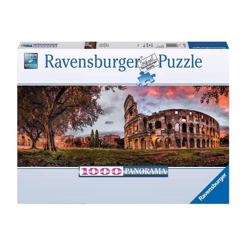 Puzzle 1000pz Colosseo Al Tramonto - Ravensburger  - MazzeoGiocattoli.it