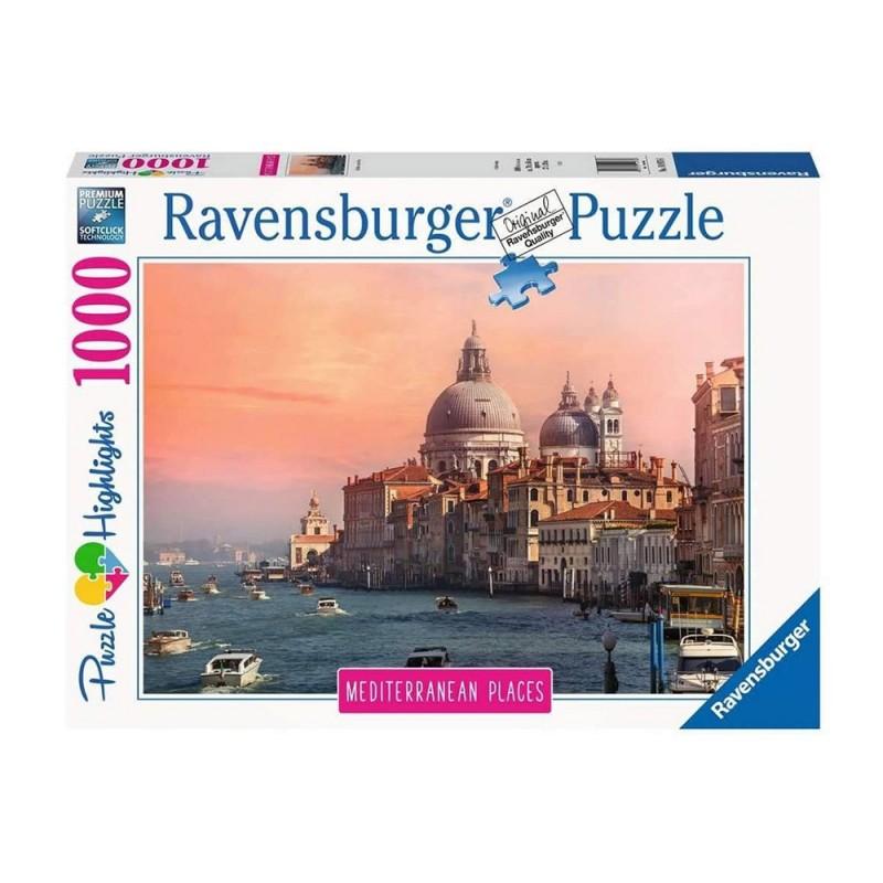 Puzzle 1000pz Mediterranean Italy - Ravensburger  - MazzeoGiocattoli.it