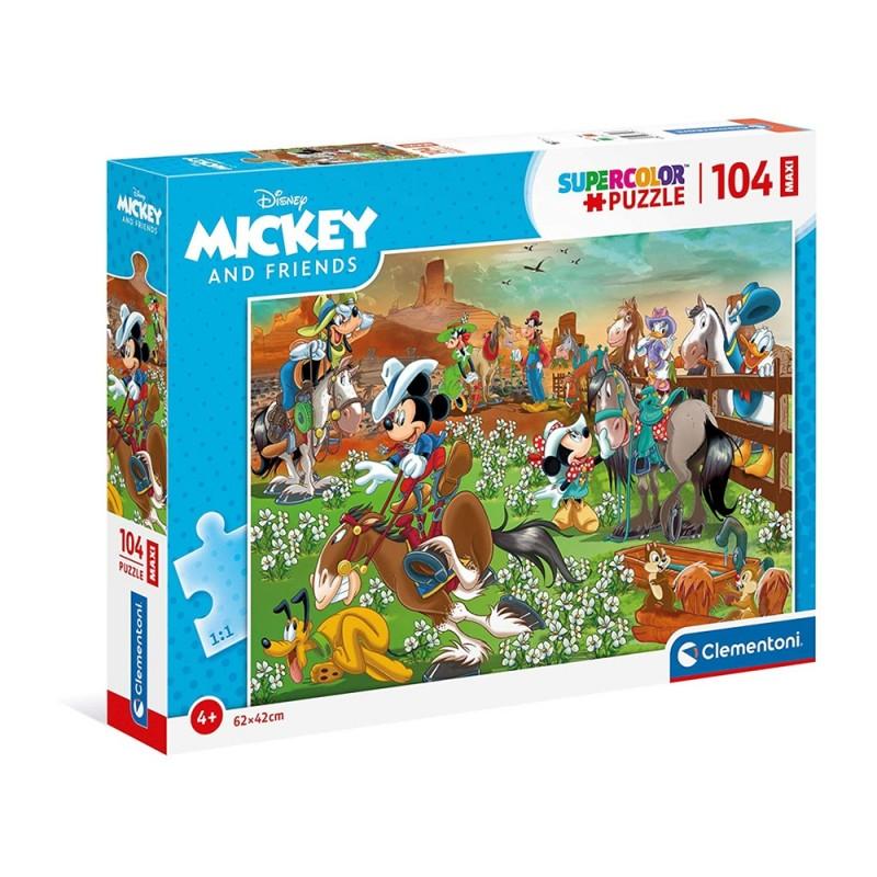 Puzzle 104 Pz Mickey E Amici - Clementoni  - MazzeoGiocattoli.it