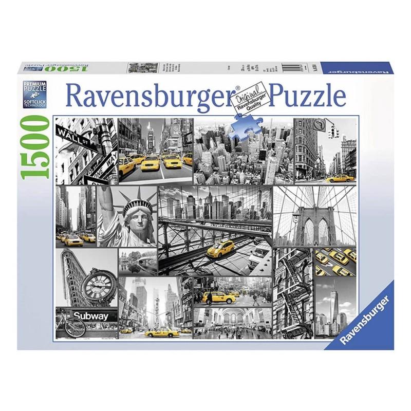 Puzzle 1500 Pz Macchie Di Colore A New York - Ravensburger  - MazzeoGiocattoli.it