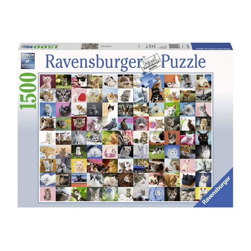 Puzzle 1500pz 99 Gatti - Ravensburger  - MazzeoGiocattoli.it