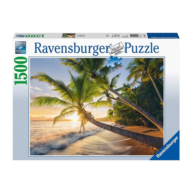 Puzzle 1500pz Spiaggia Segreta  - Ravensburger  - MazzeoGiocattoli.it