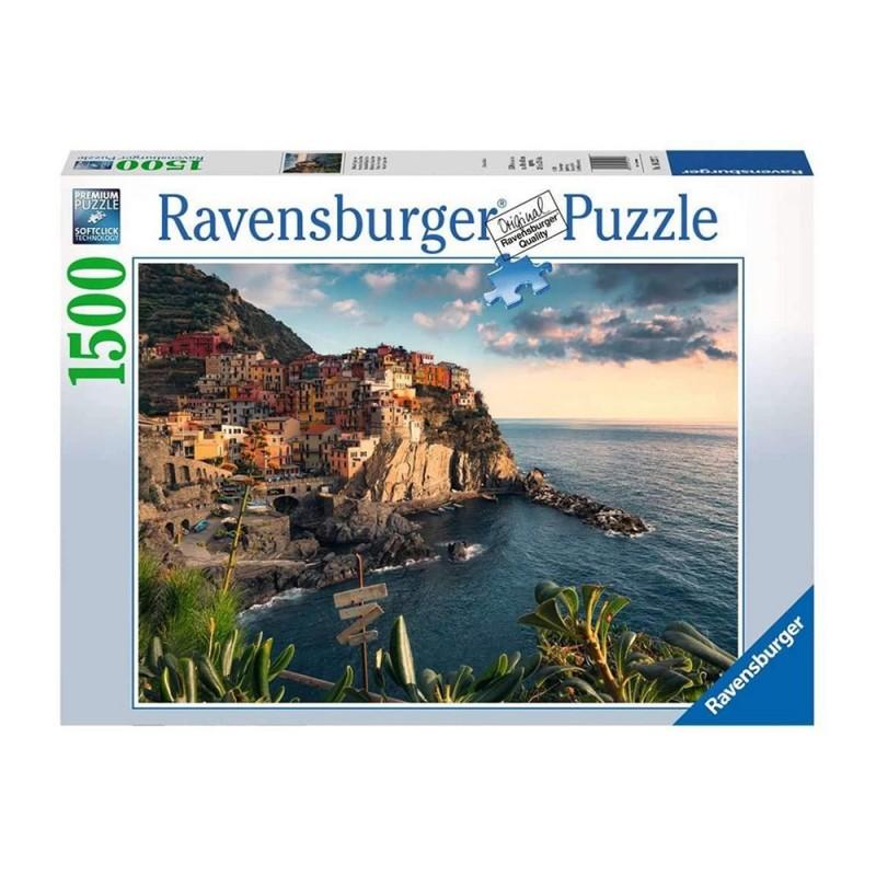 Puzzle 1500pz Vista Delle Cinque Terre - Ravensburger  - MazzeoGiocattoli.it