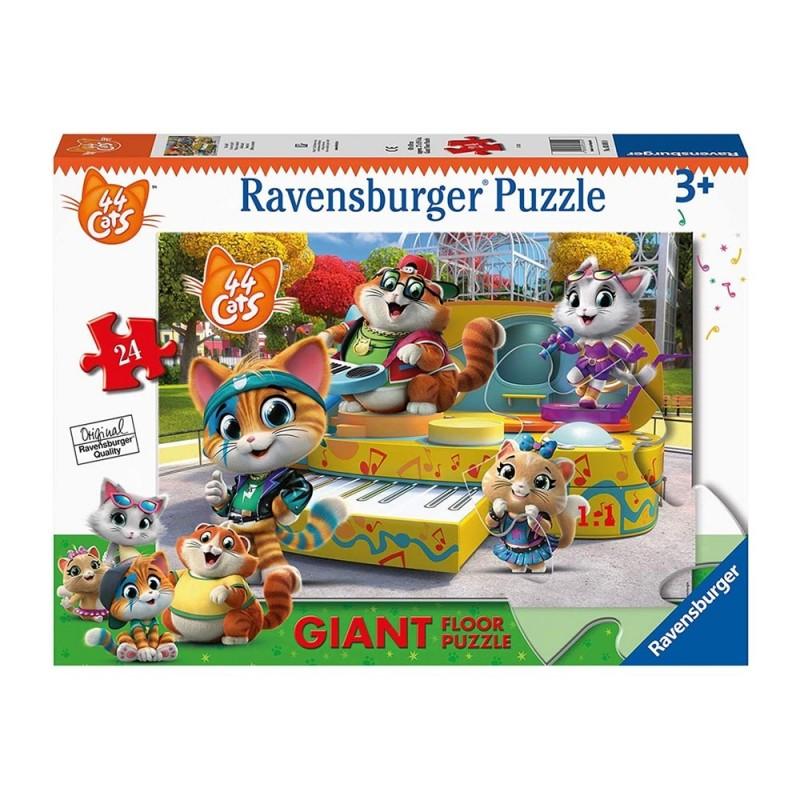Puzzle 24 Pz 44 Gatti - Ravensburger  - MazzeoGiocattoli.it