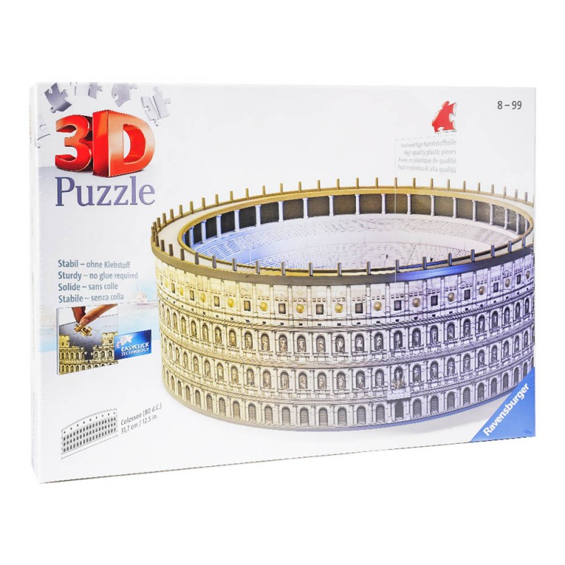 Puzzle 3d Colosseo - Ranvensburger - MazzeoGiocattoli.it