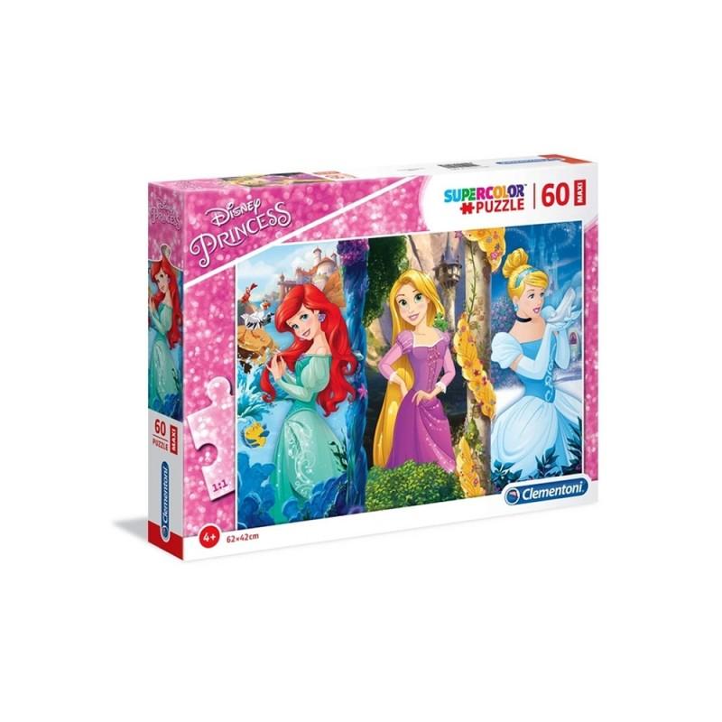 Puzzle 60 Maxi Principesse Disney - Clementoni - MazzeoGiocattoli.it