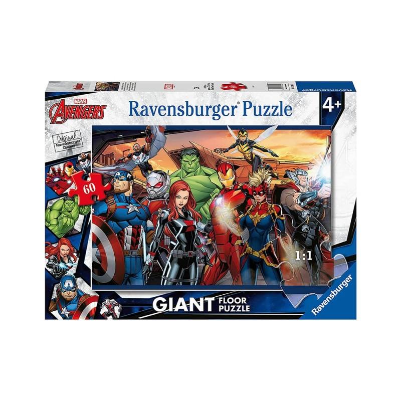 Puzzle 60 Pz Avengers - Ravensburger  - MazzeoGiocattoli.it
