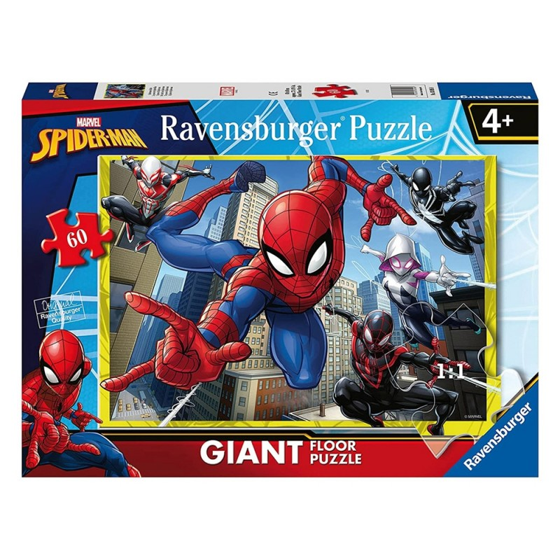 Puzzle 60 Pz Spider Man - Ravensburger - MazzeoGiocattoli.it