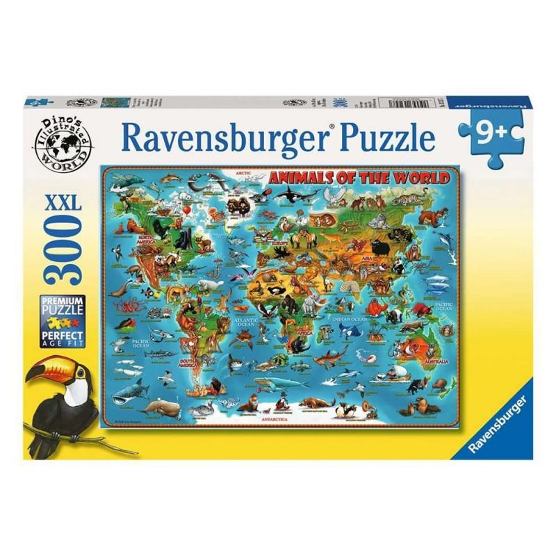 Puzzle Animali Del Mondo 300 XXL - Ravensburger - MazzeoGiocattoli.it