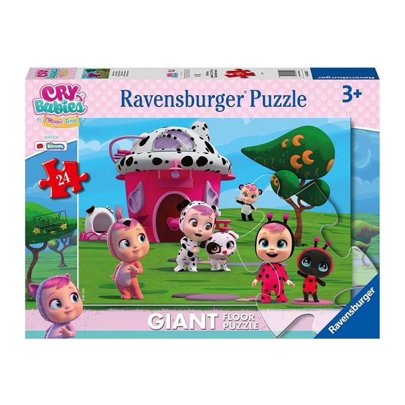 Puzzle Cry Babies Da 24 Pezzi Grandi - Ravensburger  - MazzeoGiocattoli.it