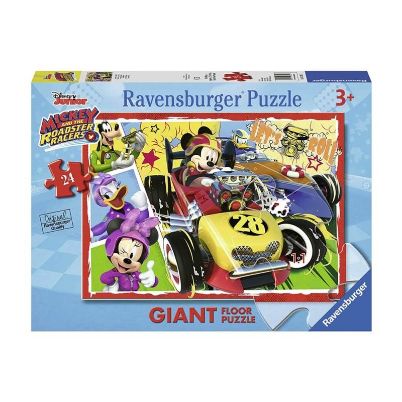 Puzzle Da 24 Pezzi Topolino - Ravensburger  - MazzeoGiocattoli.it