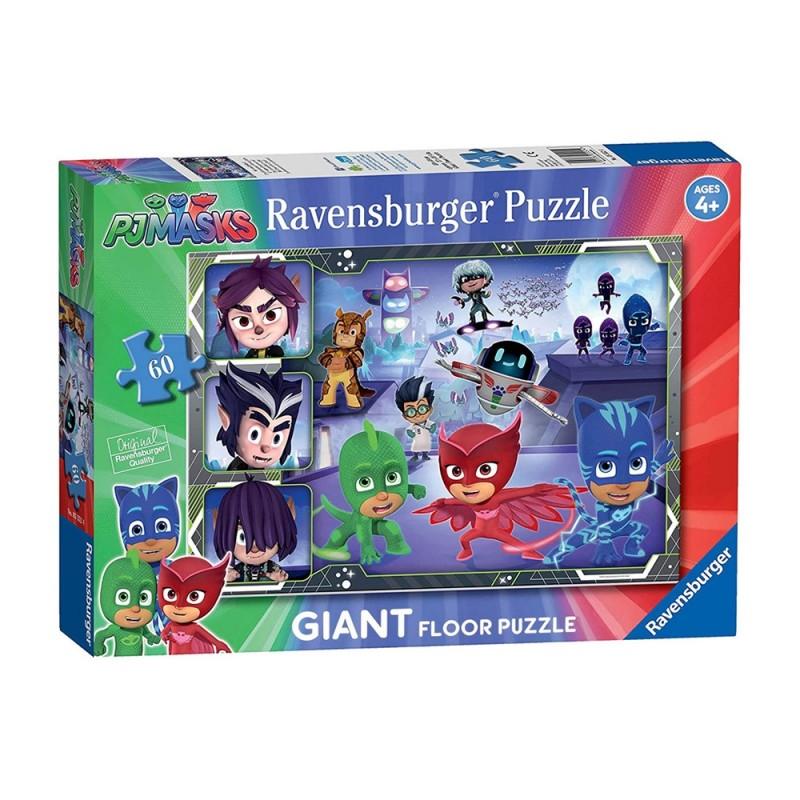 Puzzle Giant 60 Pj Masks - Ravensburger  - MazzeoGiocattoli.it