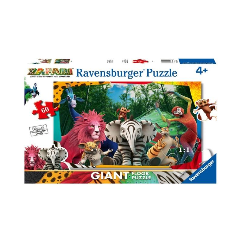 Puzzle Giant 60 Zafari - Ravensburger - MazzeoGiocattoli.it