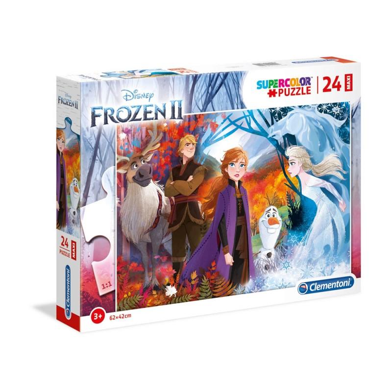 Puzzle Maxi 24pz Frozen 2 - Clementoni - MazzeoGiocattoli.it
