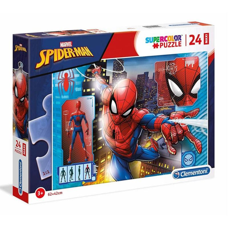 Puzzle Maxi Spiderman 24pz - Clementoni  - MazzeoGiocattoli.it