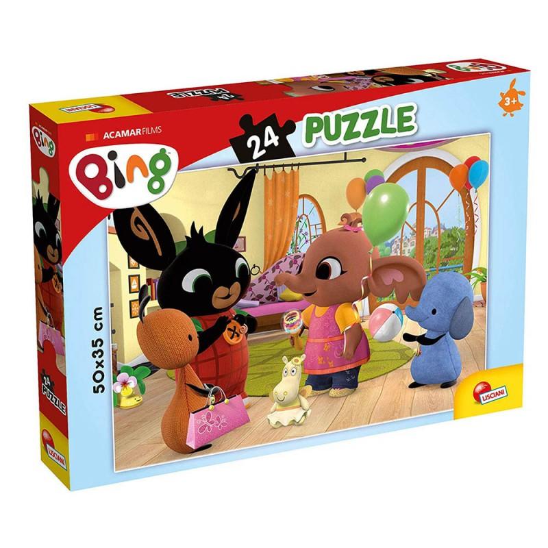Puzzle Plus Bing Titolo 1 24pz - Lisciani  - MazzeoGiocattoli.it