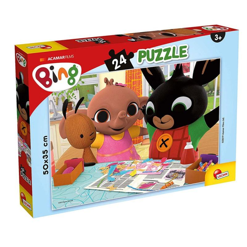 Puzzle Plus Bing Titolo 3 24pz - Lisciani  - MazzeoGiocattoli.it