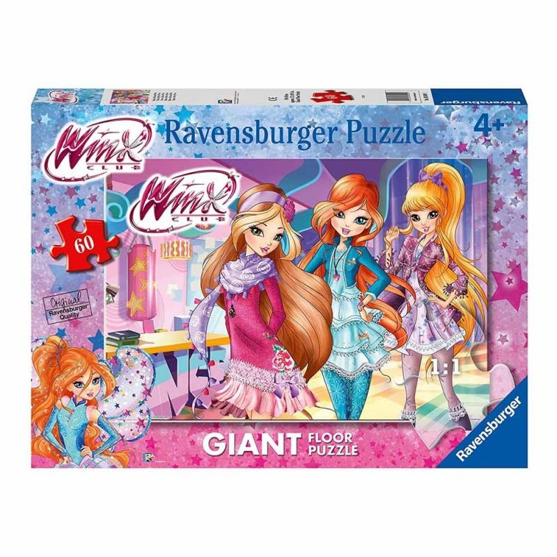 Puzzle Winx Da 60 Pezzi - Ravensburger - MazzeoGiocattoli.it
