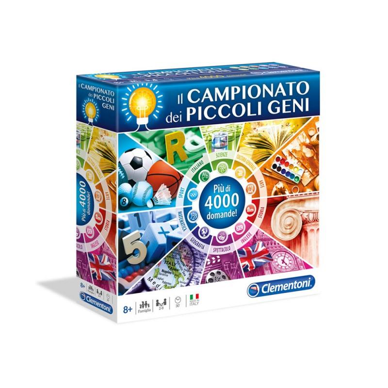 Quiz Il Campionato Dei Piccoli Geni - Clementoni - MazzeoGiocattoli.it