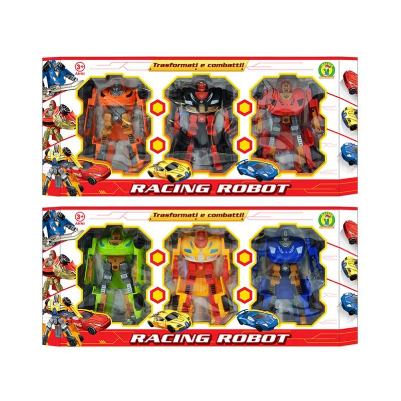 Robot Racing Trasformabile - Mazzeo Giocattoli - MazzeoGiocattoli.it