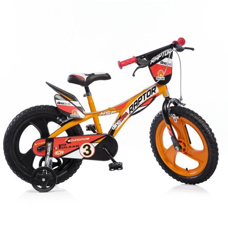 Bici 16 Pollici Raptor Boy - Dino Bikes - MazzeoGiocattoli.it