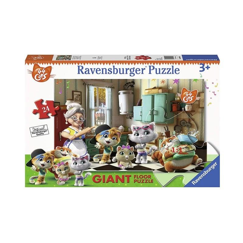 Ravensburger Puzzle 44 Gatti - Ravensburger  - MazzeoGiocattoli.it