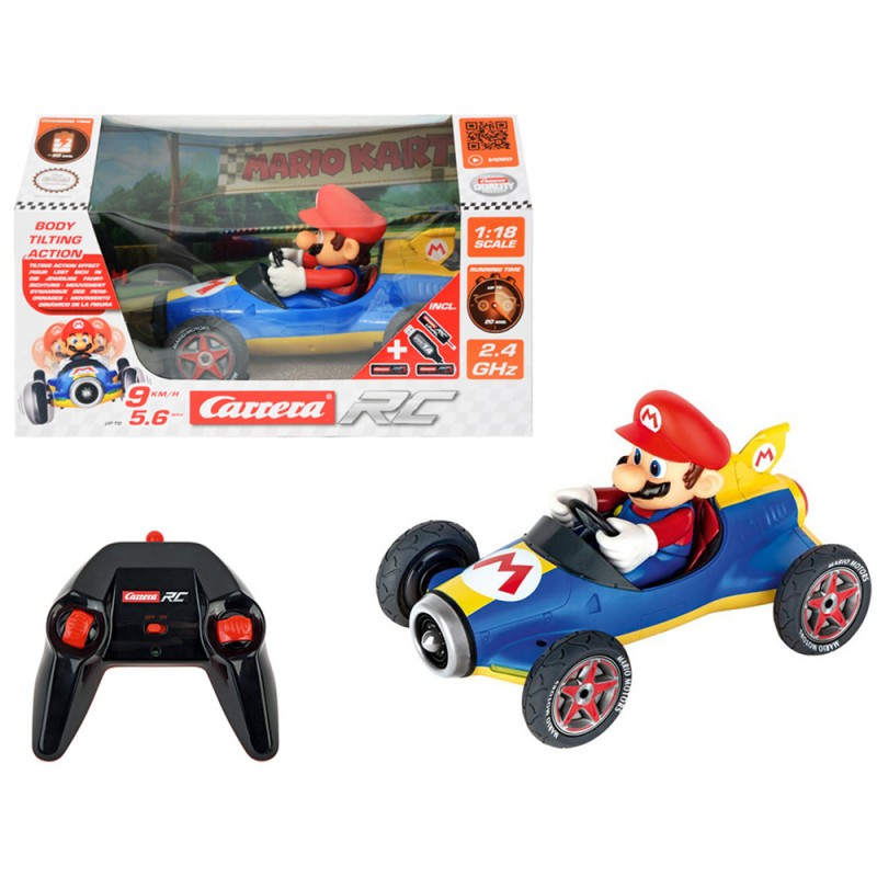 RC Mario Kart Mach 8 1:18 - Carrera  - MazzeoGiocattoli.it