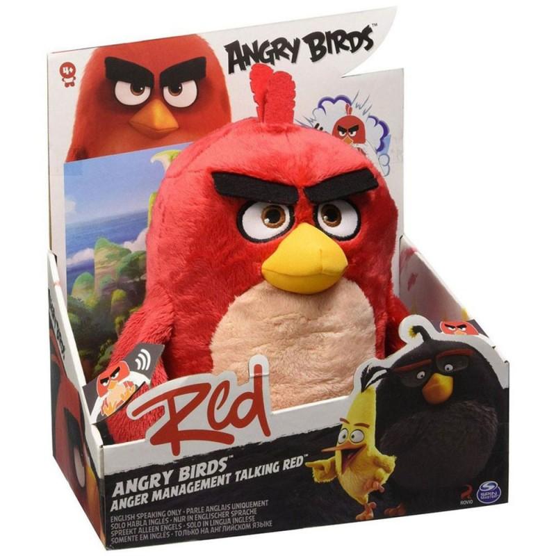 Angry Birds Red Peluche Interattivo - MazzeoGiocattoli.it