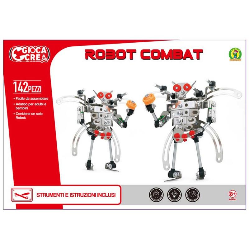 COSTRUZIONI ROBOT COMBAT 142 PZ - Mazzeo Giocattoli  - MazzeoGiocattoli.it