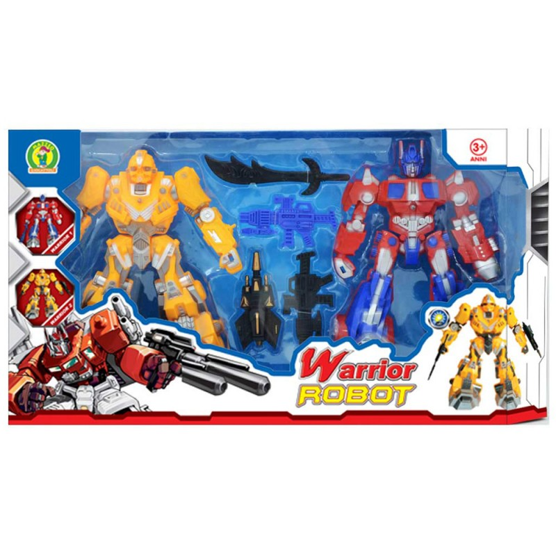 Robot Giocattolo Warrior Robot - Mazzeo Giocattoli - MazzeoGiocattoli.it