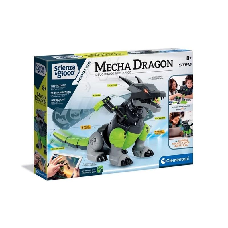 Robot Interattivo Mecha Dragon - Clementoni  - MazzeoGiocattoli.it