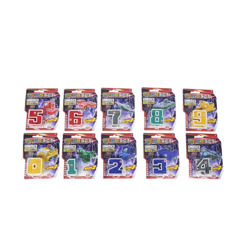 Robot Trasformabile Megabot - Grandi Giochi  - MazzeoGiocattoli.it