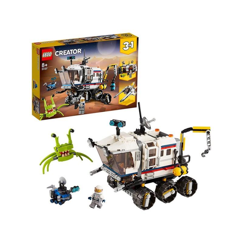 Rover Di Esplorazione Spaziale 3 In 1 - Lego  - MazzeoGiocattoli.it