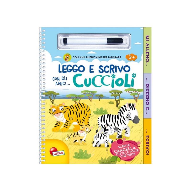 Rubrichine Per Imparare - Leggo E Scrivo Con Gli Amici Cuccioli - Lisciani - MazzeoGiocattoli.it
