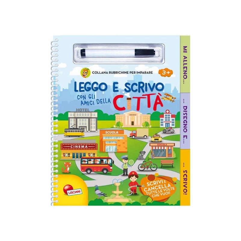 Rubrichine Per Imparare - Leggo E Scrivo Con Gli Amici Della Citta' - Lisciani  - MazzeoGiocattoli.it