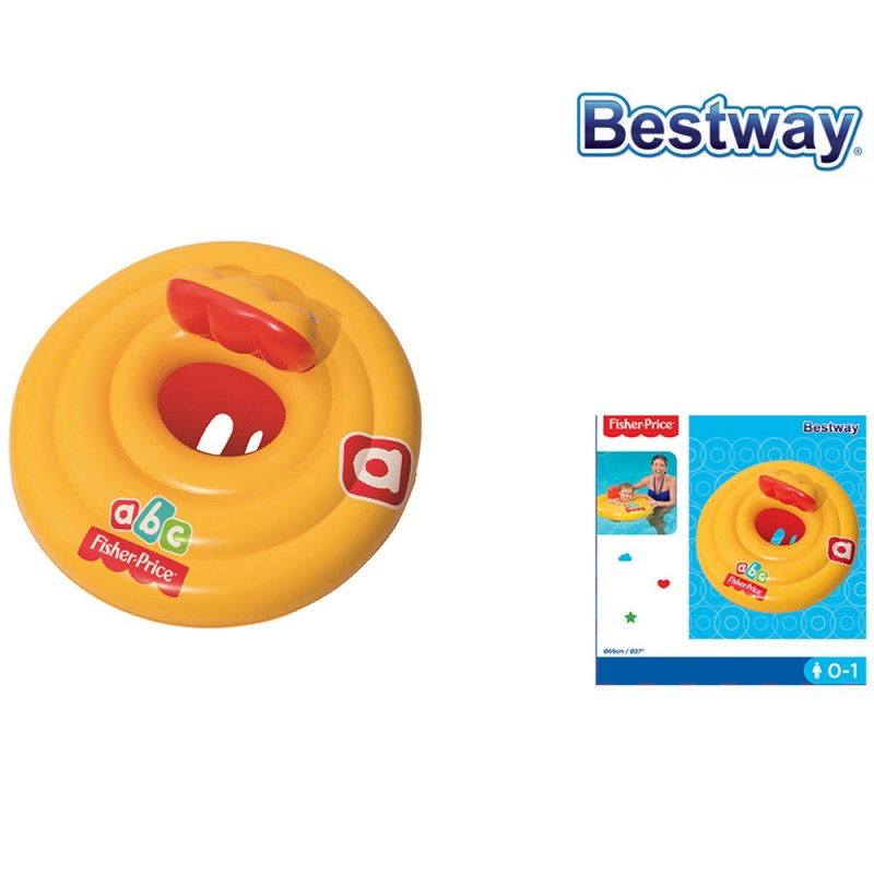 Salvagente A Mutandina ABC Fisher Price 69cm - Bestway  - MazzeoGiocattoli.it